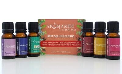 Best Selling Essential Oil Blends (6 Pack)