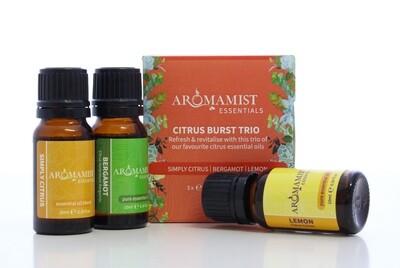 Citrus Burst Trio (Simply Citrus Blend, Bergamot, Lemon)