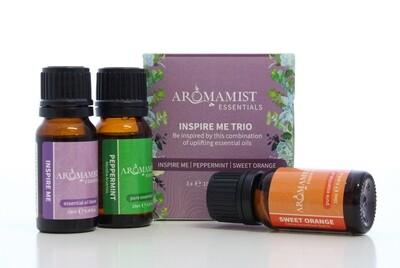 Inspire Me Trio (Inspire Me Blend, Peppermint, Sweet Orange)