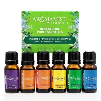 Best Selling Pure Essential Oils (6 Pack)