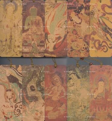 Dunhung Murals Buddhas & Bodhisttvas Bookmarks