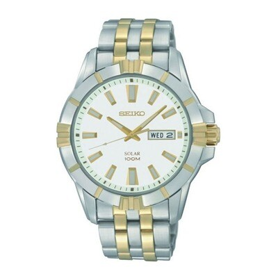Seiko SNE162P1 Gents Solar Quartz Watch