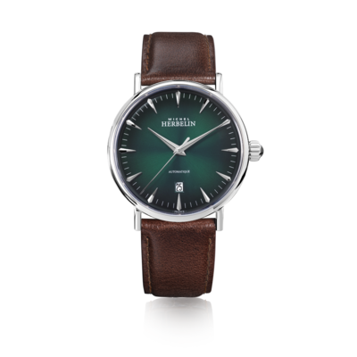 Gents Michel Herbelin INSPIRATION AUTOMATIC 1647/AP16BR
