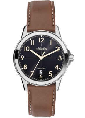 Gents Michel Herbelin AMBASSADE automatic watch 1650/24GO