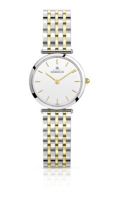 Ladies Michel Herbelin two colour watch 17116/BT11