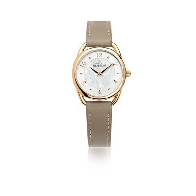 Ladies Michel Herbelin EQUINOXE rose gold plated watch 17497/PR29GR