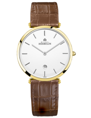 Gents Michel Herbelin EPSILON watch 19406/P11GO