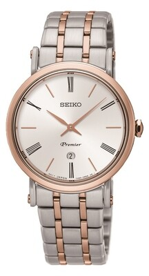 Seiko SXB430P1 ladies PREMIER Two Colour Quartz Watch