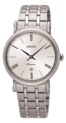 Seiko SXB429P1 Ladies PREMIER Stainless Steel Watch