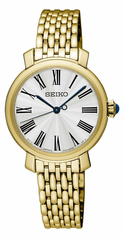Seiko SRZ498P1 Ladies Gold Plated Watch