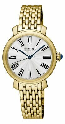 Seiko SRZ498P1 Ladies Gold Plated Watch
