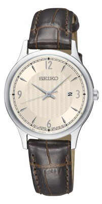 Seiko SXDG95P1 Ladies Stainless Steel Strap Watch
