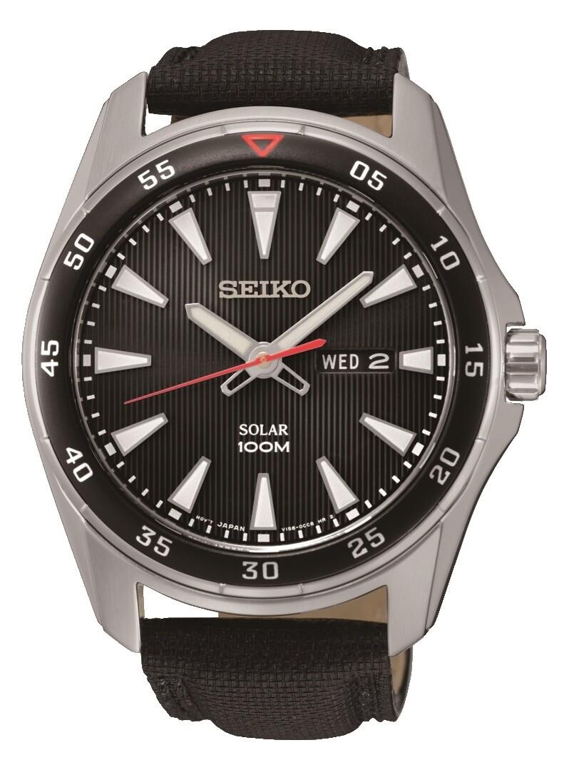 Seiko SNE393P2 Gents Solar Quartz Watch