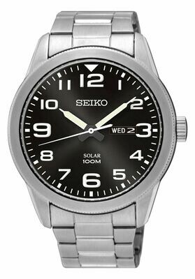 Seiko SNE471P1 Gents Solar Quartz Watch