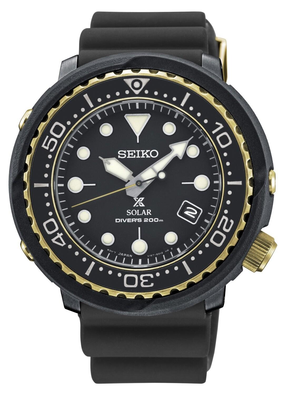 Seiko SNE498P1 Gents PROSPEX Solar Powered Quartz Divers Watch