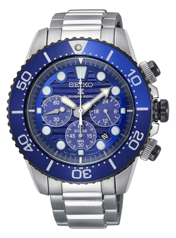 Seiko SSC675P1 Gents PROSPEX Quartz Solar Divers Watch