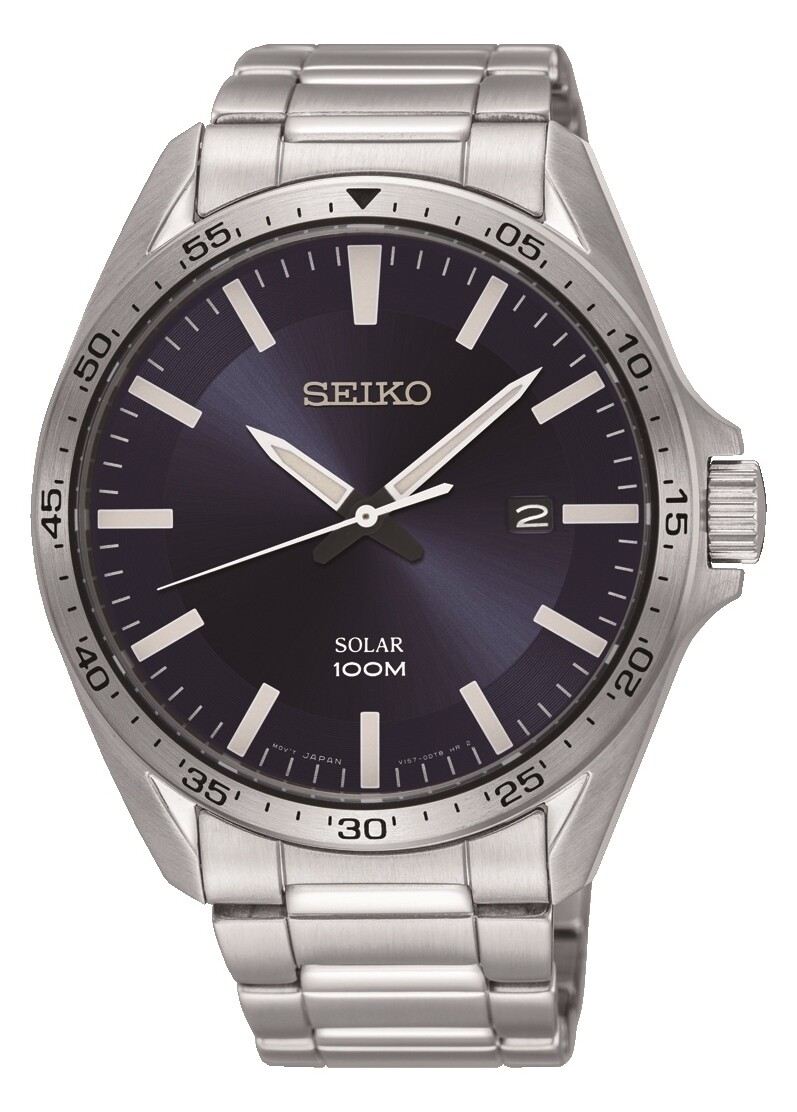 Seiko SNE483P1 Gents Solar Quartz Watch