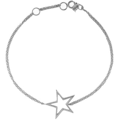 Luxury White Gold Starry Night Star Bracelet