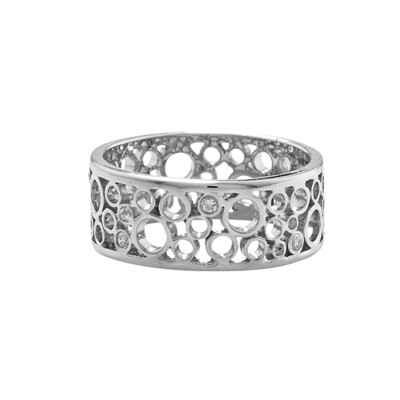 Stunning White Gold Diamond Ring