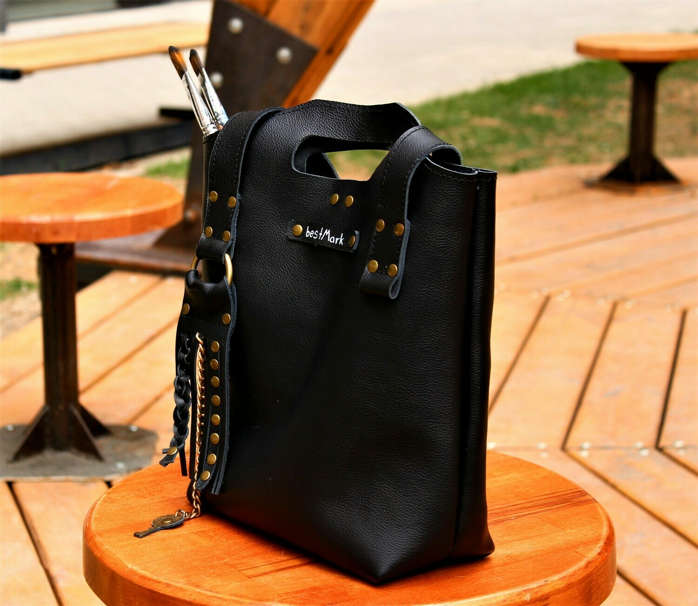 ჩანთა 30x32x11 სმ - Leather Bag