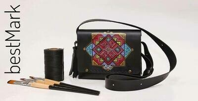 ჩანთა 26x20x10 სმ - Leather Messenger Bag
