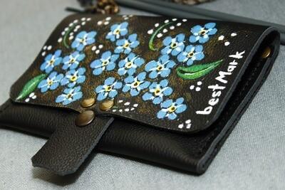 საფულე 15x10 სმ - Leather Wallet