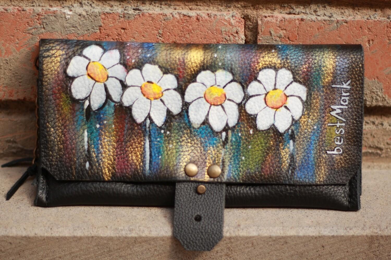 საფულე 21x10 სმ - Leather Wallet