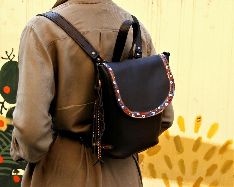 ზურგჩანთა 26x25x13 სმ - Leather Backpack