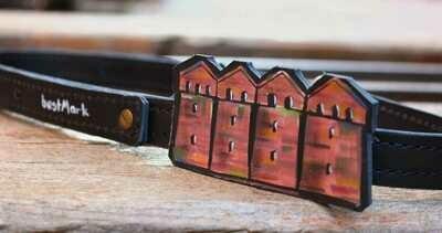 ქამარი  Max 95 სმ, რეგულირებადი -  Leather Belt