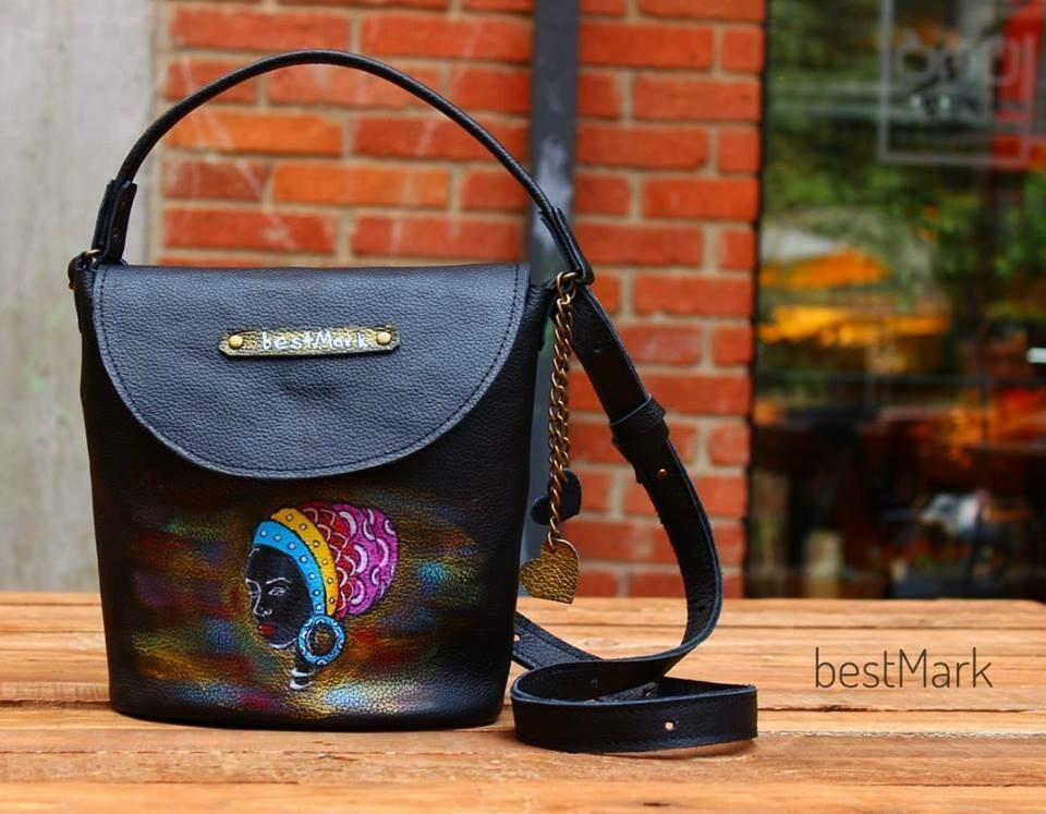 ჩანთა 23x20x19 სმ - Leather Bag