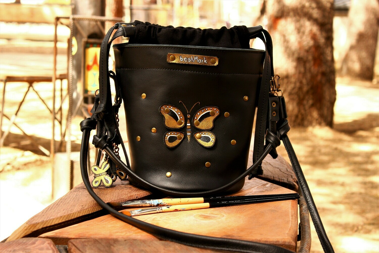 ჩანთა 27x26x17 სმ - Leather Bag