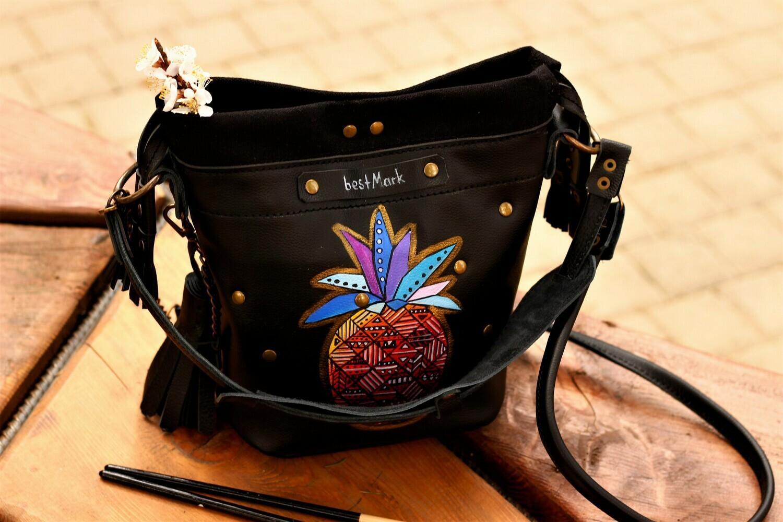 ჩანთა 23x26x12 სმ - Leather Bag