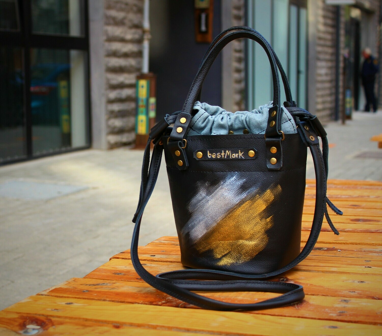 ჩანთა 22x23x14 სმ - Leather Bag