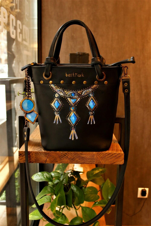 ჩანთა 24x26x9 სმ - Leather Bag