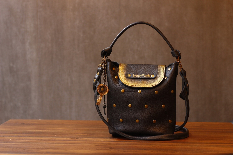 ჩანთა 20x23x10 სმ - Leather Bag