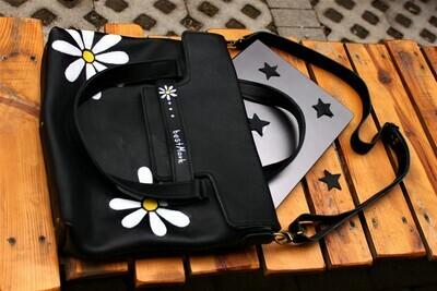 ჩანთა 30x35x8 სმ - Leather Messenger Bag