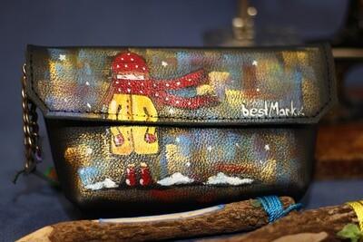 კოსმეტიკის ჩანთა  17x10x4 სმ | Make Up Bag