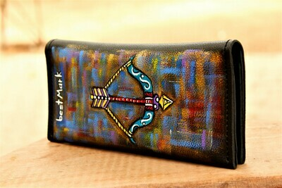 საფულე 21x10 სმ NM - Leather Wallet NM