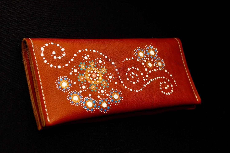 საფულე 21x10 სმ NM - Leather Wallet BrL