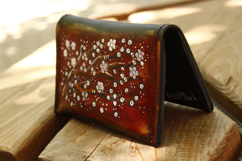 საფულე 15x10 სმ NM - Leather Wallet NM