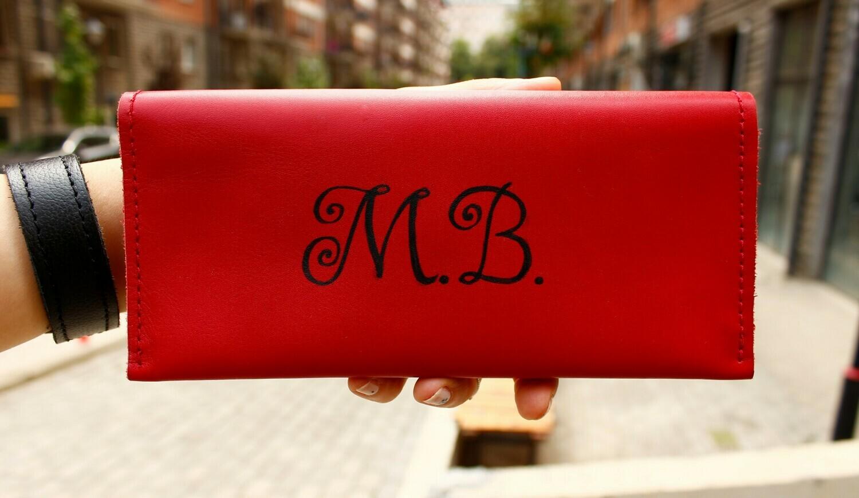 საფულე 21x10 სმ NM - Leather Wallet RW