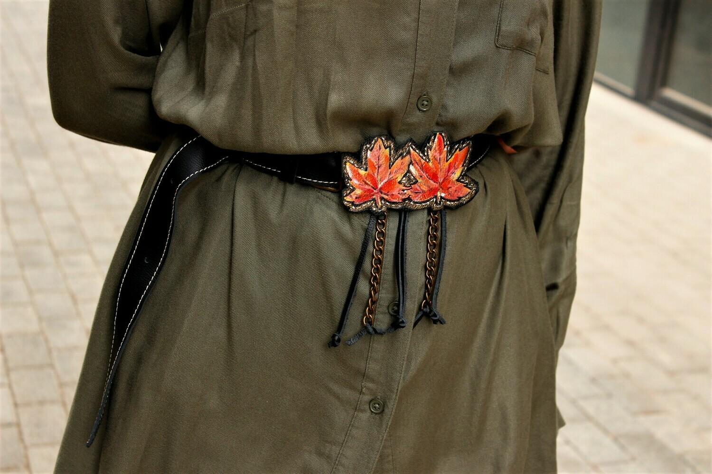 ქამარი Max 110 სმ, რეგულირებადი - Leather Belt