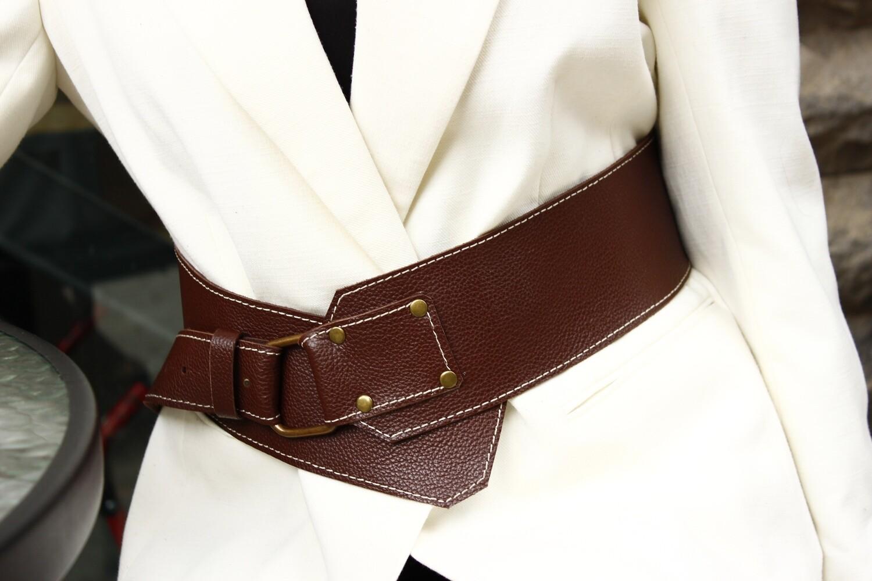 ქამარი | Leather Belt  102 სმ რეგულირებადი ბალთით