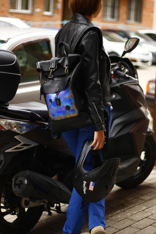 ზურგჩანთა 42x30x6 სმ - Leather Backpack