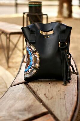 ჩანთა - 30x32x7 სმ Leather Tote Bag