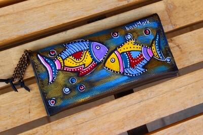 besMark საფულე 21x10 სმ NM - Leather Wallet NM