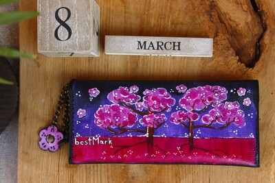 bestMark საფულე 21x10 სმ NM - Leather Wallet NM