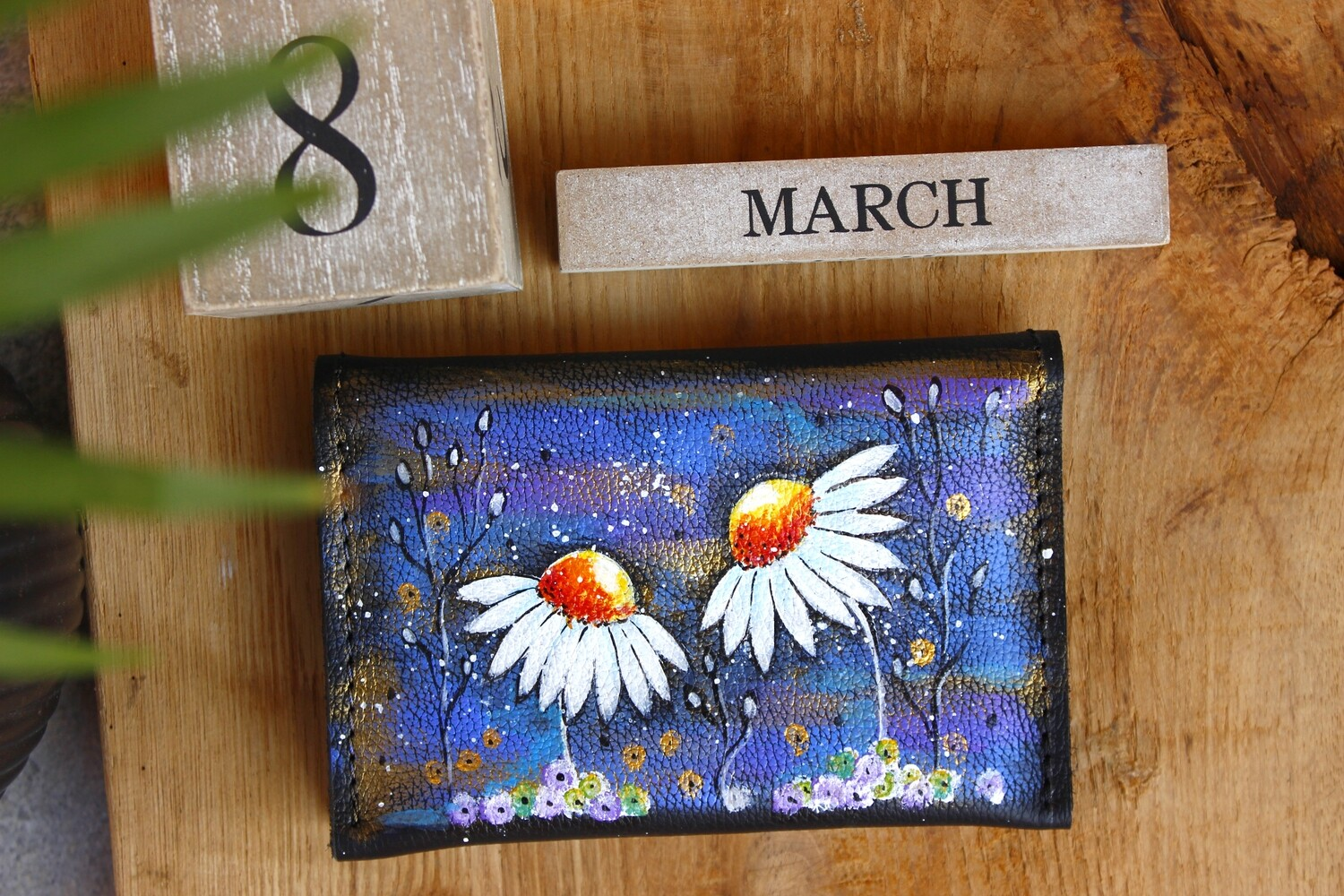bestMark საფულე 15x10 სმ NM - Leather Wallet NM