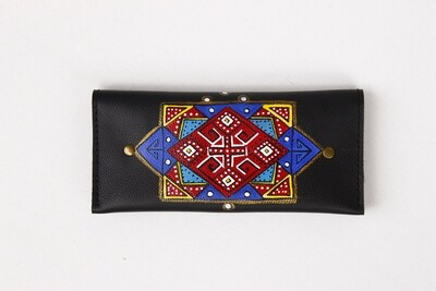 bestMark - საფულე 21x10 სმ NM - Leather Wallet NM