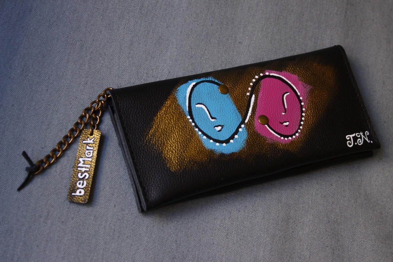 besMark საფულე 21x10 სმ NM - Leather Wallet NM ტყუპები Gemini